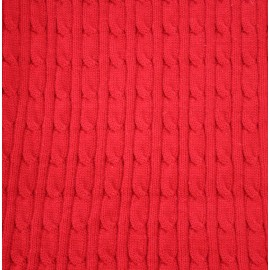 Knitted fabric col. Red