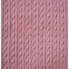Knitted fabric col. Antique pink