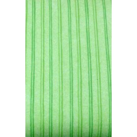 Fabric flannel col. Green striped