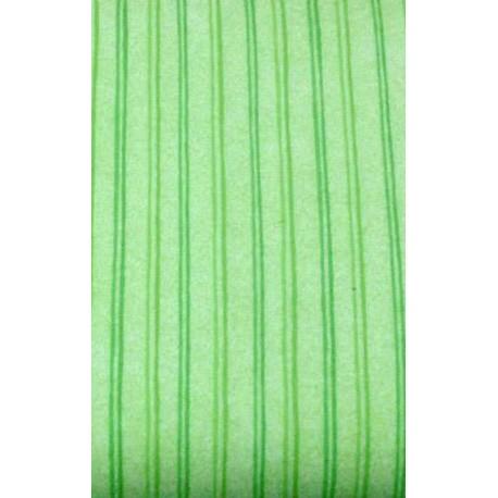 Fabric flannel col. Green striped