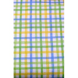 Fabric flannel col. Multicolor plaid