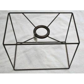 Base paralume in metallo