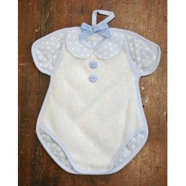 Bow birth Body with. Blue