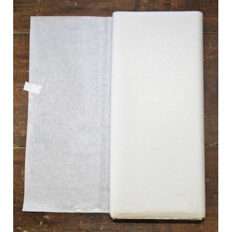 Fisellina termo adesiva biadesiva leggera col. Bianco