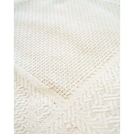 Canvas aida 32 holes wool Col. Cream Patchwork