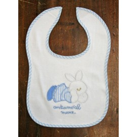 Bib col. White and blue
