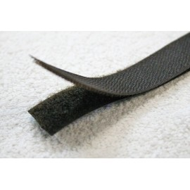 Velcro sew-20 mm colour - dark grey