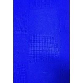 Tessuto tovagliato da ricamare malmo h180 blu