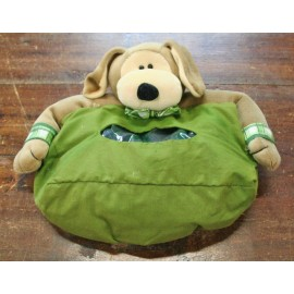 Port kleenex Dog with. Green