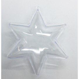 Star of plexiglass