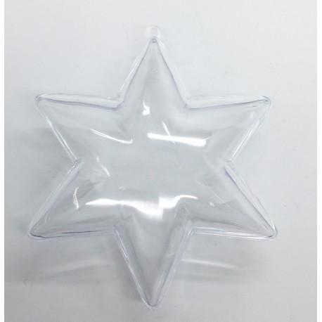 Star of plexiglass