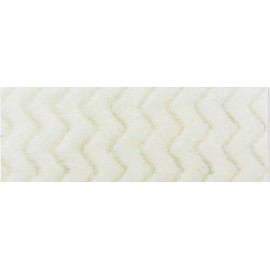 Fleece fabric - Minky Wave with. cream