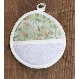 Presina tonda - fiori verde