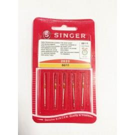 Aghi macchina Singer 80 - 5 pz 801