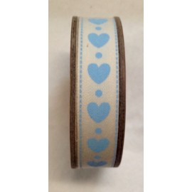 Tape roll with print-Owls blue