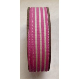 Tape roll with print Stripes Fuchsia