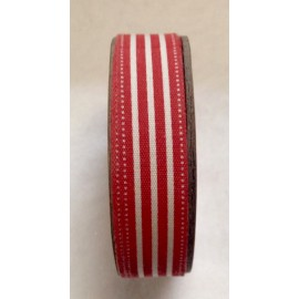 Tape roll with print Stripes Red