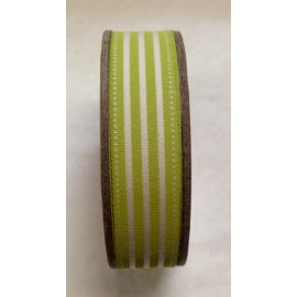 Tape roll with print-Green Stripes