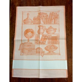 Cloth Library with. Orange