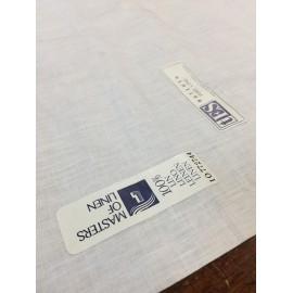 Batista di puro lino h90 cm Sironi - Bianco
