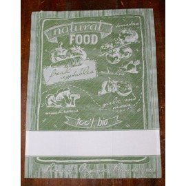 Cloth Natural Food with. Green