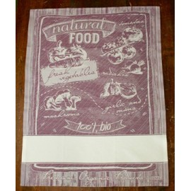 Cloth Natural Food with. Purple