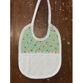 Gag baby with. White and teal stripe in Sangallo
