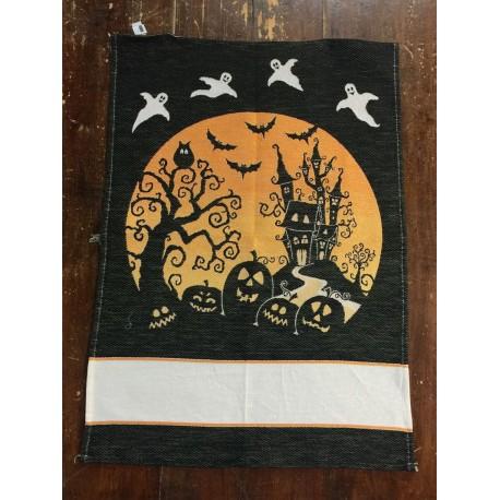 Strofinaccio Ghost con tela aida da ricamare