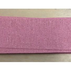 Nastro Divincencioso 75mm col.080 rosa antico - 'I Nastri di Mirta'