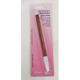 Penna delebile all'acqua marrone punta spessa