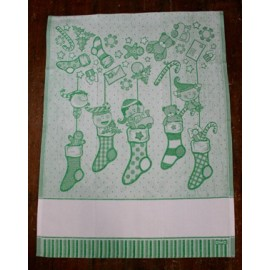 Cloth Socks with. Green