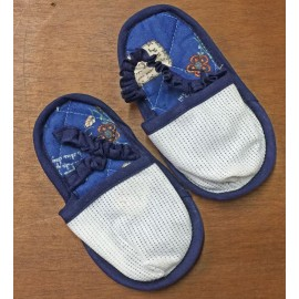 Slippers for children - with. Brown