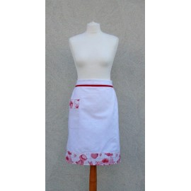 Apron waist red fruit