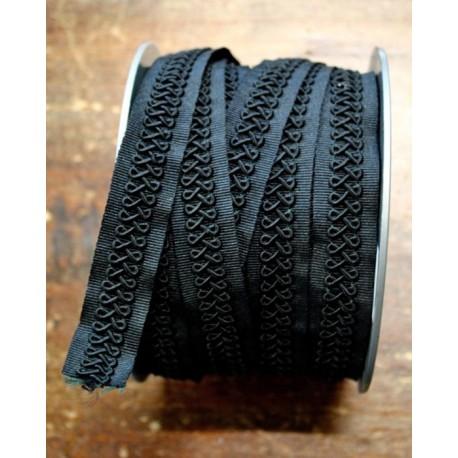 Trimmings h. 2cm, black