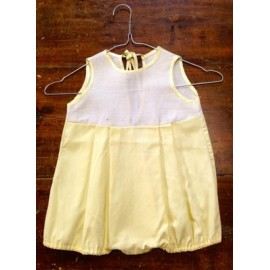 Romper child. Yellow