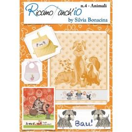 Libro Ricamoanchio n.4 - Animali
