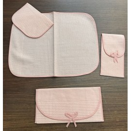 Breakfast Set 4 piece pink