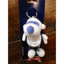 Portachiavi Pecorella col. Bianco e Azzurro
