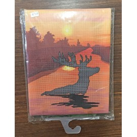 Canvas 3D Deer 22x28 art. HD1101
