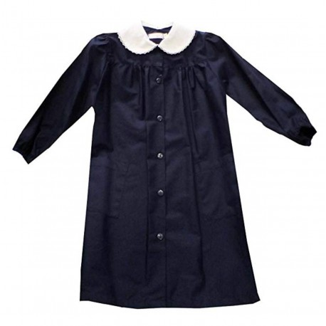 Apron from school with black collar female mis. 95
