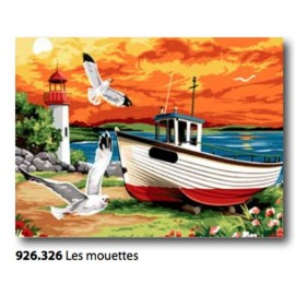 Cloth Les mouettes art. 926.326