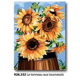 Canovaccio Le tonneau aux tournesols art. 926.332