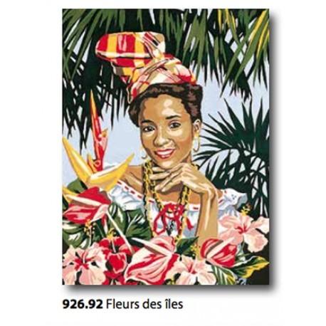 Canvas Fleurs des Iles art. 926.92
