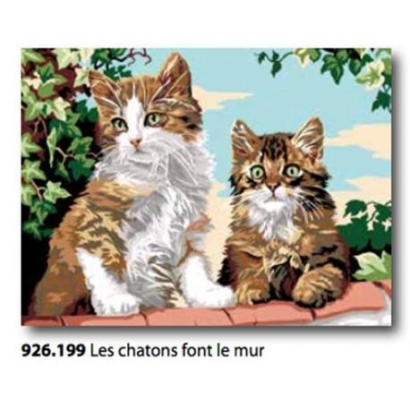 Cloth Les chatons font le mur art. 926.199