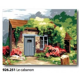 Canvas Le cabanon art. 926.251