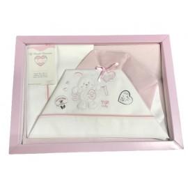 A cover sheet cot 3 pcs pink