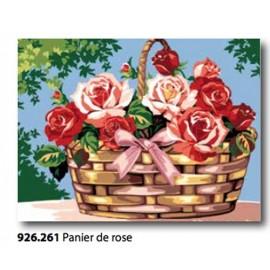 Canovaccio Panier de rose art. 926.261