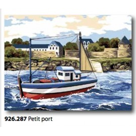 Canvas Petit port, art. 926.287