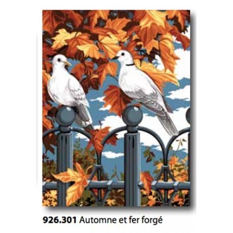 Cloth'automne et fer forgé art. 926.301