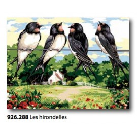 Canovaccio Les hirondelles art. 926.288